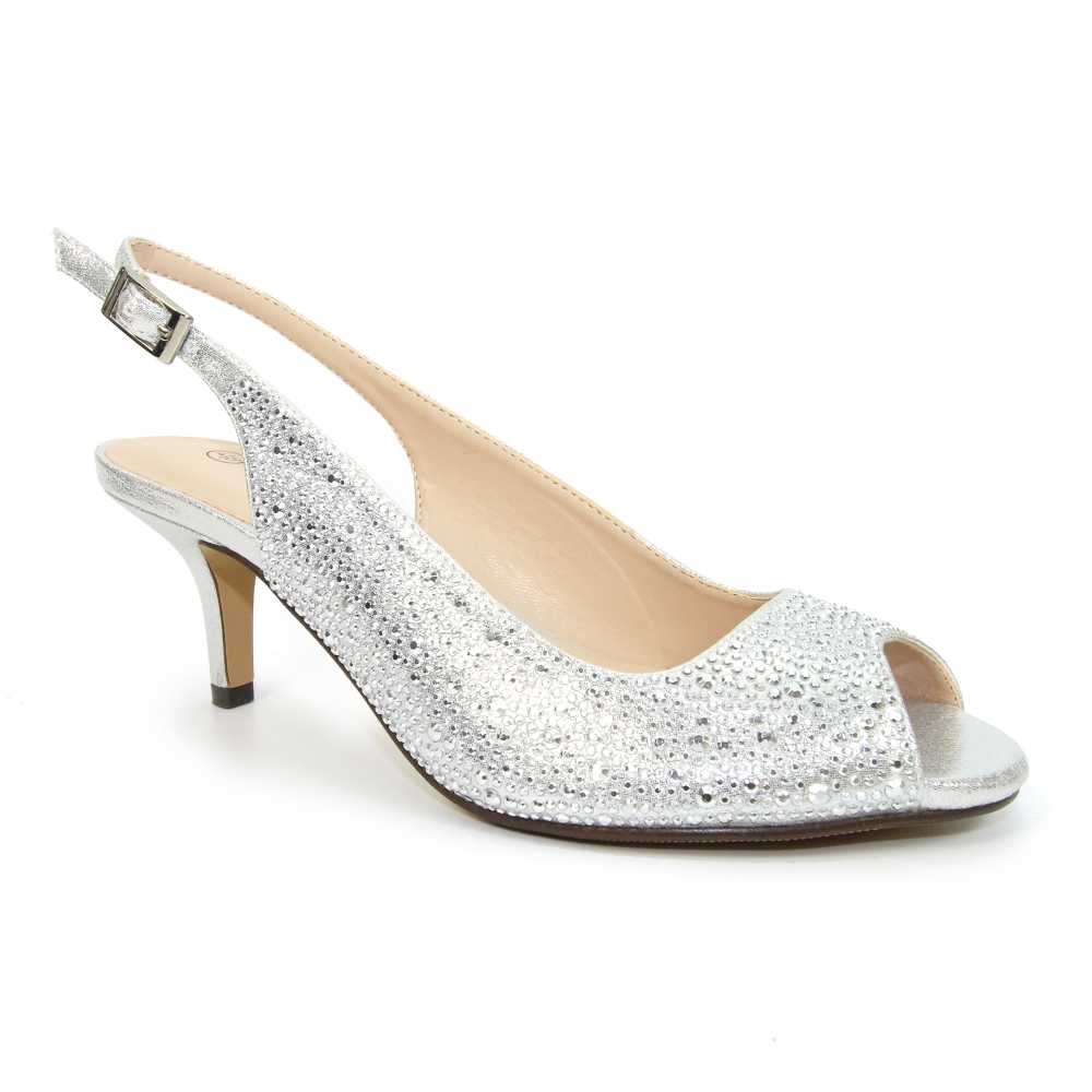 Sense – Wide Fitting Sandals Silver